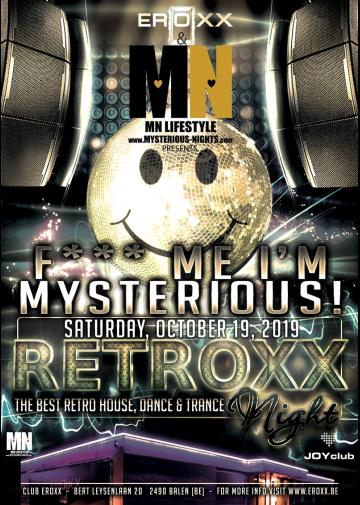 Image Retroxx Party by Mysterious Nights