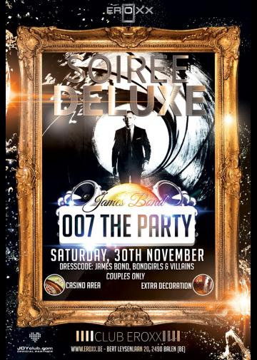 """Foto Soiree Deluxe """" 007 The Party"""""""