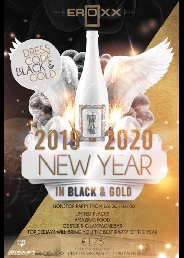 Foto NYE 2019/20 Black&Gold Edition