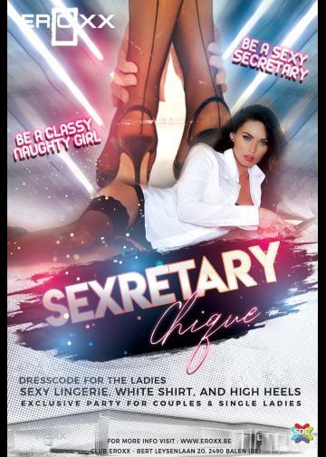 Image Sexretary Chique met surprice DJ ( BNL)