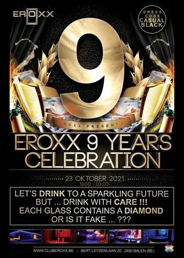 Image Eroxx 9 Years Celebration